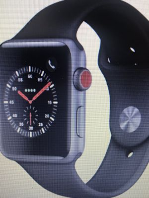 Apple Watch 3 (GPS/Cellular) Space Grey for Sale in Morrisville, NC