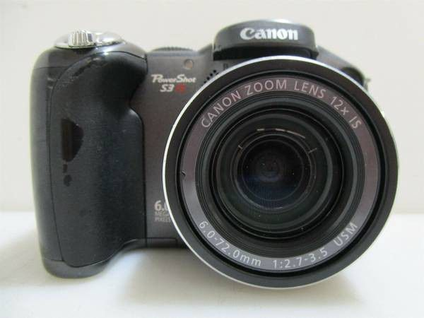 Canon PowerShot Camera S3 15.6 Megapixel (Body Only)