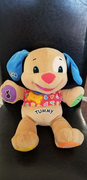 Laugh & Learn Puppy stuffed animal 2003 for Sale in South Gate, CA