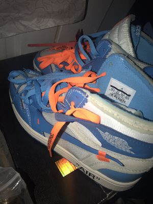 Jordan 1 unc off white for Sale in New Braunfels, TX