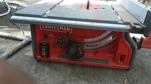 "Craftsman 10"" tablesaw for Sale in San Jose, CA"