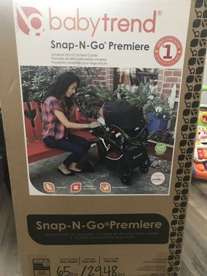 Snap n Go and car seat for Sale in Menifee, CA