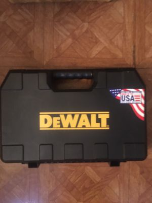 "DeWalt. 20V MAX 1/2"" Hammer Drill Empty Hard Case. for Sale in Brooklyn, NY"