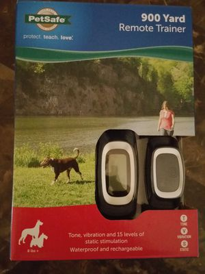 PetSafe 900 yard Remote Trainer for Sale in Rockville, MD
