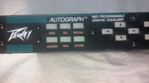 DJ PROFFESSIONAL GEAR / EQUIPMENT: PEAVEY PROGRAMMABLE GRAPHIC EQUALIZER for Sale in Allen Park, MI