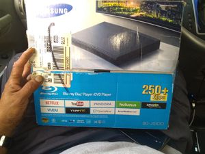 Samsung Blu-ray DVD player with apps installed I'm capable of installing 250 more apps for Sale in Los Angeles, CA