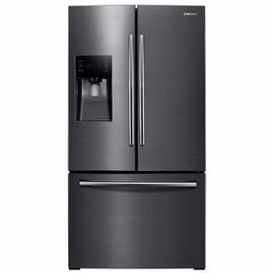 Samsung 25 cu. ft. French Door Refrigerator with External Water & Ice and Twin Cooling Plus for Sale in Honolulu, HI