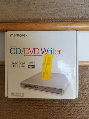 Portable USB CD/DVD Writer for Sale in Lexington, KY