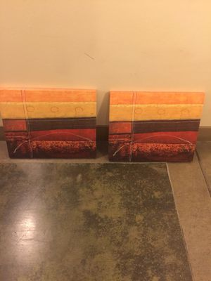 "A pair of oil paintings 18""x24"" for Sale in Austin, TX"