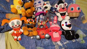 Five Nights At Freddy's Plushies for Sale in Denver, CO