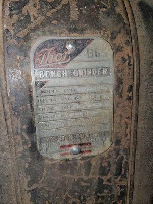 Antique Thor Bench grinder for Sale in Hazelwood, MO