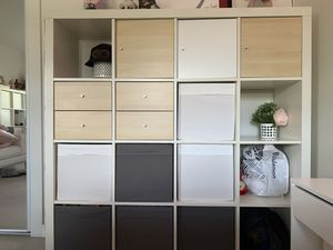 Two wall units (56x59x15) and a desk (45x29x31). Ikea. for Sale in North Miami Beach, FL