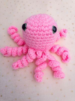 Crochet Octopus Amigurumi, Octopus Plush, Soft Stuffed Octopus, Octopus Plush for Sale in Burlington, MA