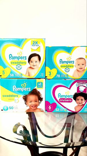 Pampers Diapers ** Other Sizes Sold Out ** for Sale in Orlando, FL