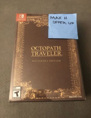 Octopath Traveler Wayfarers Edition for Sale in Villa Park, IL