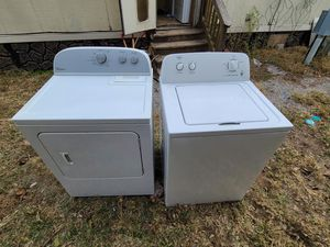The dryer is whirlpool and the washer is roper for Sale in Wichita, KS