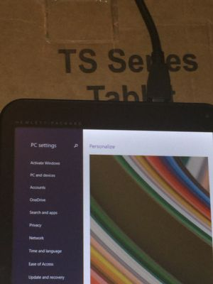 HP TS-tablet 120$ for Sale in Cleveland, OH