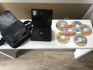 DVD player and DVDs for Sale in Auburn, WA