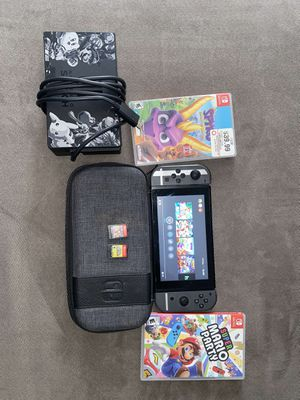 Nintendo Switch W/Games for Sale in Baton Rouge, LA