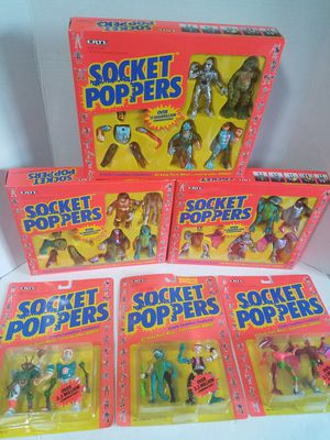 Ertl Socket Poppers 1991 action figures for Sale in Newberg, OR
