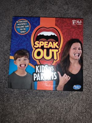 Speak Out Game for Sale in Spring, TX