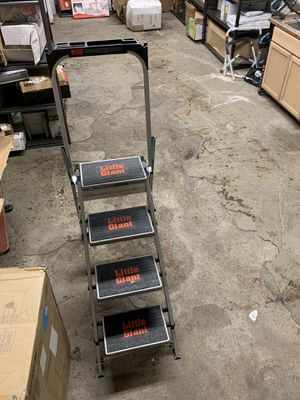 Little giant step ladder new see picture for Sale in Lincoln, CA