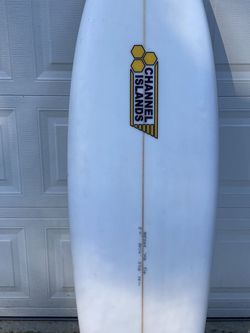 Channel Island Twin Fin Surfboard 5'11 for Sale in Gig Harbor,  WA