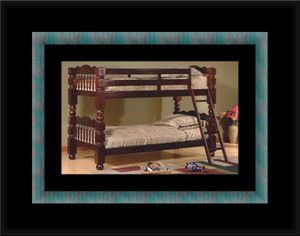 Twin wooden bunkbed frames for Sale in Hyattsville, MD