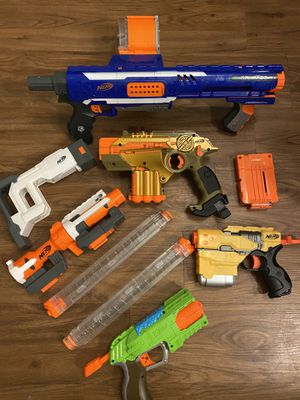 Lot of Nerf Guns Play for Sale in The Colony, TX