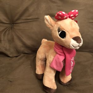 Holiday Rudolf (Clarice) Plush for Sale in West Palm Beach, FL