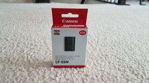 Brand New Canon Battery Pack LP-E6N for Sale in Herndon, VA