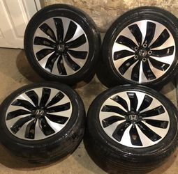 """17"""" accord/ Civic Rims And Tires for Sale in West Orange,  NJ"""