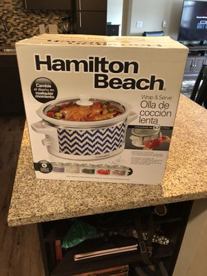 Hamilton Beach crock pot/slow cooker for Sale in Littleton, CO