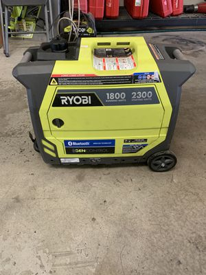 Ryobi 1800watts portable generator for Sale in Fresno, CA