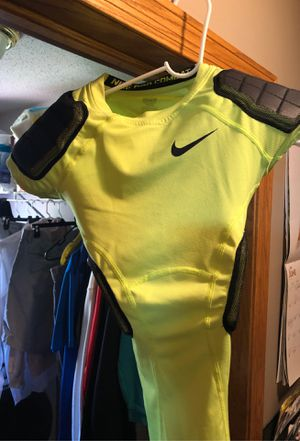 Nike Pro Combat football padded undershirt for Sale in Sioux Falls, SD