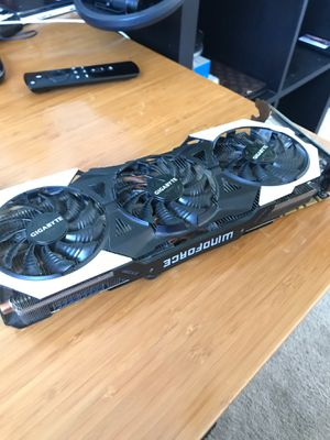 Gigabyte 980ti G1 gaming graphics card for Sale in Simi Valley, CA
