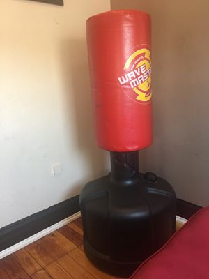 Wave master punching bag. Red. for Sale in Blue Island, IL