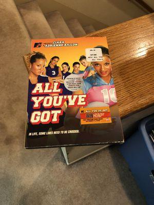 All You've Got DVD Movie 2006 Adrienne Bailon Sarah Wright Ciara for Sale in Buena Park, CA