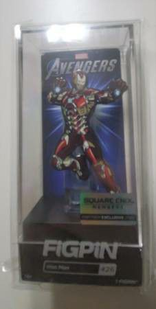 Figpin Square Enix Members Partner Exclusive Marvel Avengers Iron Man for Sale in Queens, NY