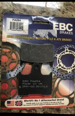 Rear brake pads fits some Suzuki, Kawasaki and Harley Davidson FA254 retail $32 for Sale in Moreno Valley, CA