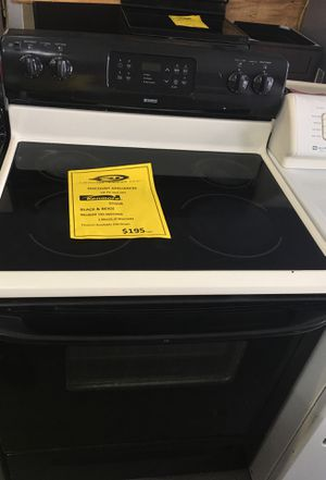Kenmore stove -30 days warranty for Sale in Orlando, FL