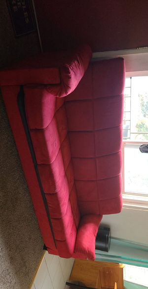 Red Futon for Sale in San Jose, CA