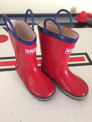 Rain boots size 9 kids for Sale in Austin, TX