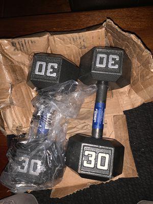 30Lbs Dumbbells for Sale in Hayward, CA
