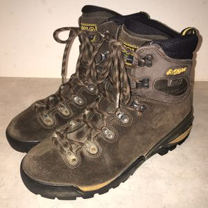 Men's ASOLO MTF 650 GTX Brown Suede Gore-Tex Hiking Boots Size 10 for Sale in Knoxville, TN