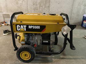 CAT gas powered generator 5500 watt ...6500 watt peak for Sale in Kansas City, MO