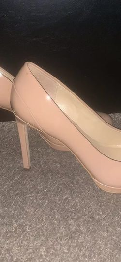 Michael Kors Beige Nude Leather Womens High Heels Pumps Shoes Size 8.5 for Sale in Las Vegas,  NV