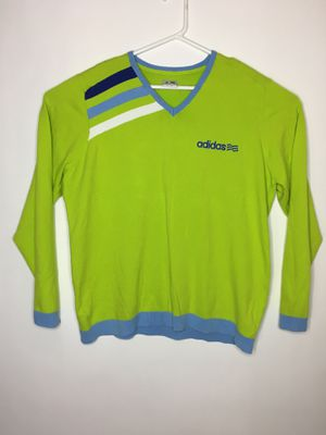 Adidas sweater lime green and blue for Sale in Chino, CA