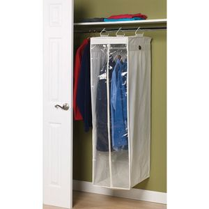 Household Essentials Canvas Collection Hanging Wardrobe for Sale in Houston, TX