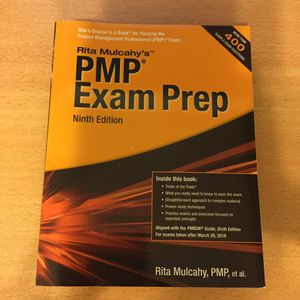 PMP Exam Prep Book for Sale in Rosemead, CA